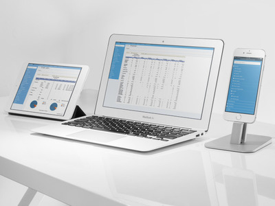 EMC cloud based pos and reports works on any device
