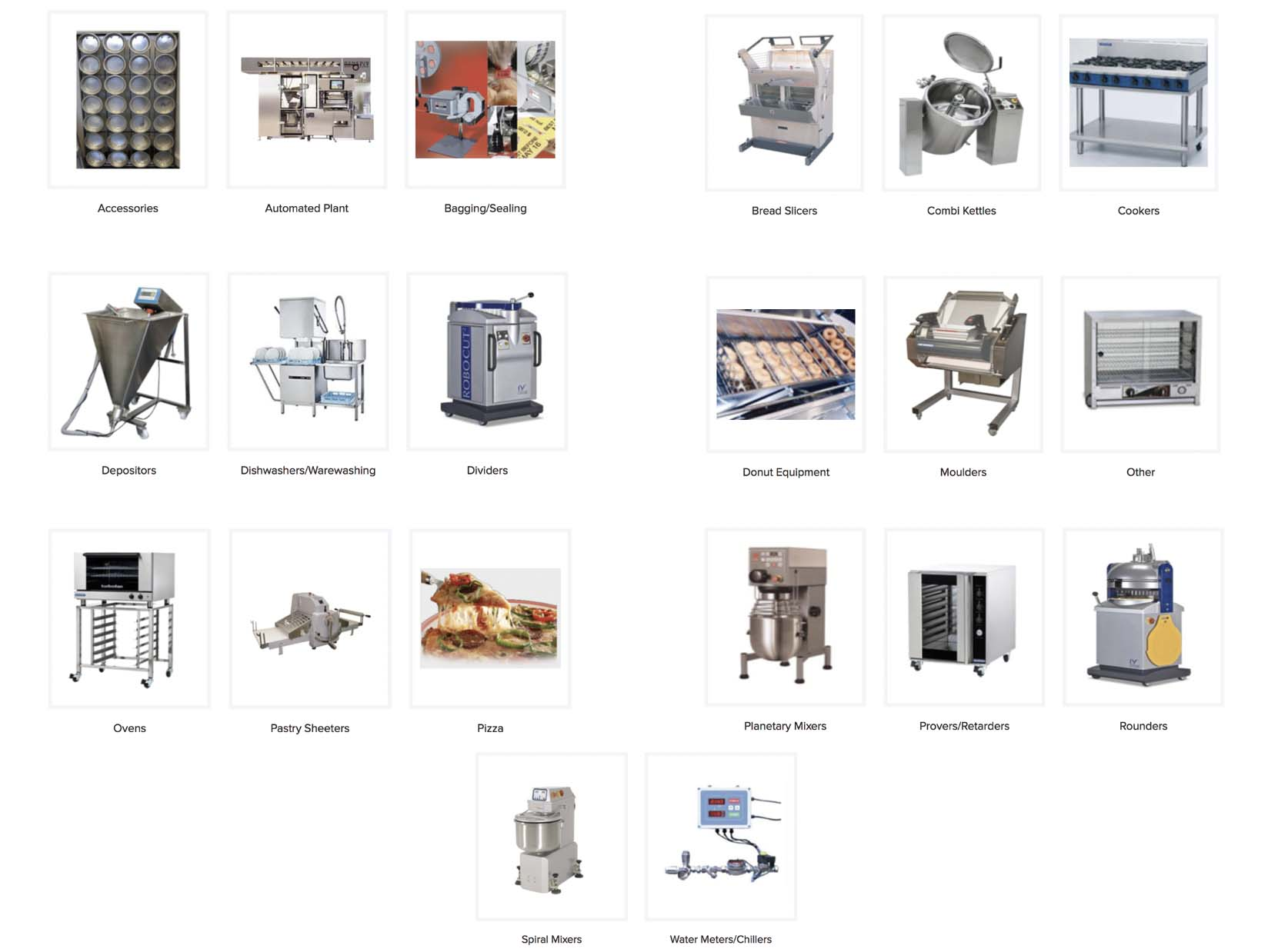 All Bake Services equipment by GaP Solutions