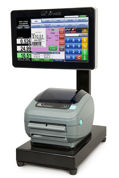 label and receipt printer by GaP Solutions