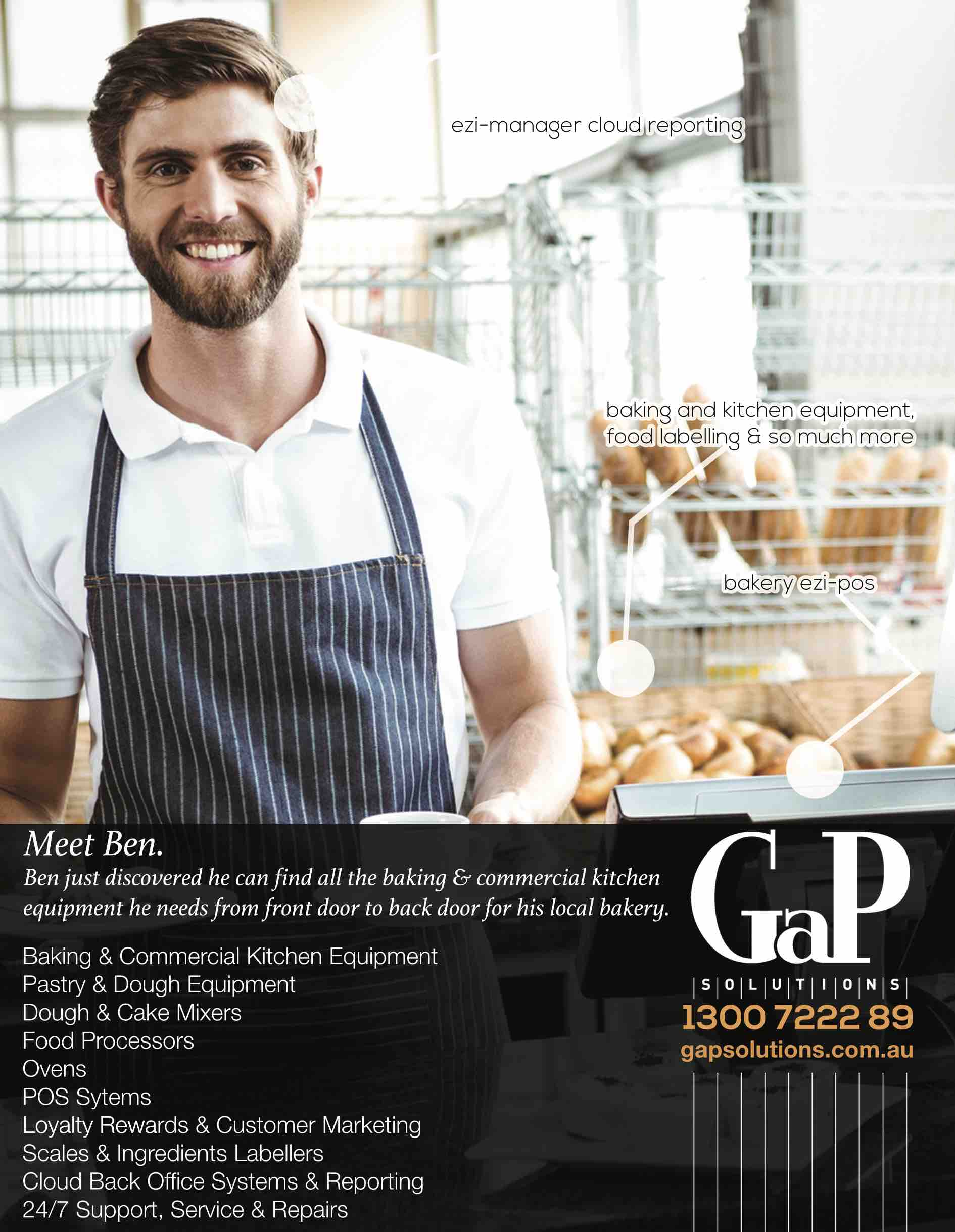 All Bake Services now serviced by GaP Solutions