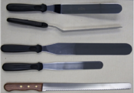 Edge Knives & Spatulas by GaP Solutions