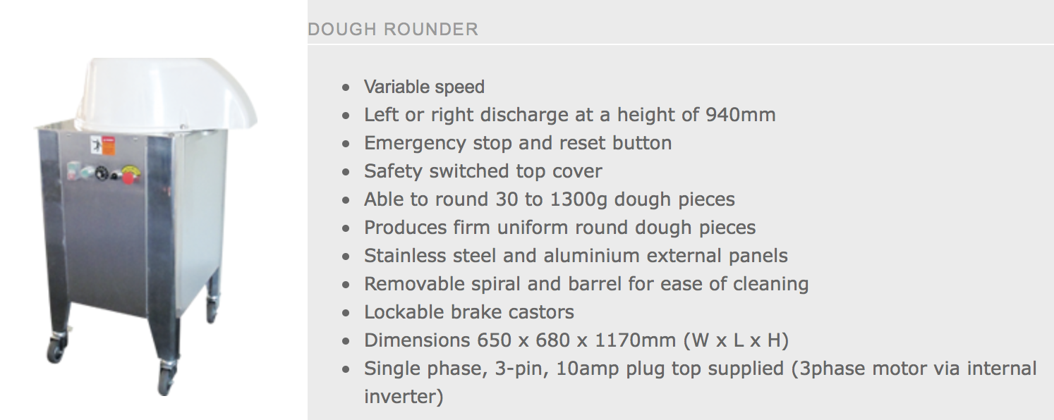 Pizza Dough Rounder