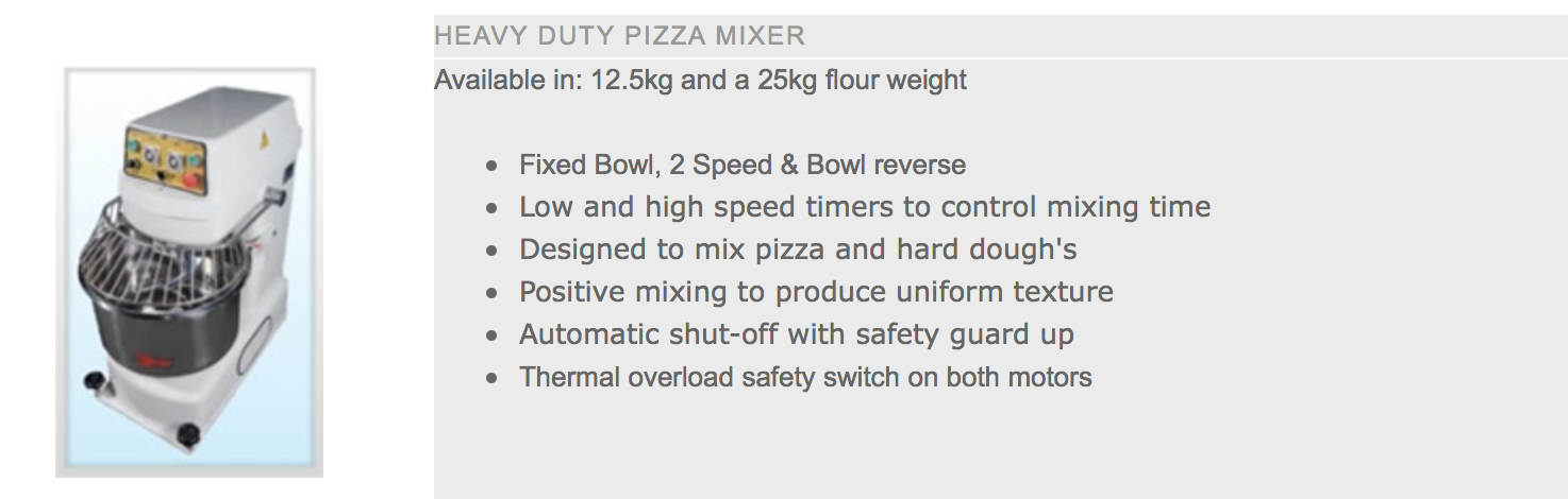Pizza Mixer